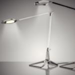 INTELIGENTNE ŚWIATŁO W PRACY LAMPA NA BIURKO LEITZ STYLE SMART LED