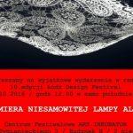 Nowatorska lampa ALLOW. Zaproszenie na premierę 15.10.2016