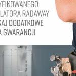 """""""3+2 lata gwarancji"""" - akcja promocyjna Radaway"""