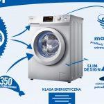 HW70-14636S: nowoczesna i praktyczna pralka od marki Haier