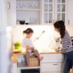 Kuchnia małej rodziny – wygoda na kilku metrach