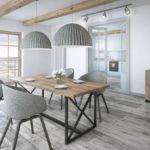 Szlachetne drewno na solidnej podstawie – stół Bari firmy Rosanero