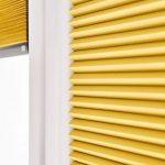 Kolorowe plisy - pomysł na okno w nowej odsłonie