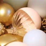 Świąteczne ozdoby w perłowym wydaniu