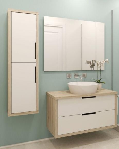 Szybka i łatwa metamorfoza łazienki z Beckers Dom, LIFESTYLE - Małe i duże wnętrzarskie metamorfozy wprowadzają w nasze najbliższe otoczenie powiew świeżości – bez względu na to, czy jest to przemeblowanie, pomalowanie ścian na inny kolor czy na przykład wymiana dekoracji.