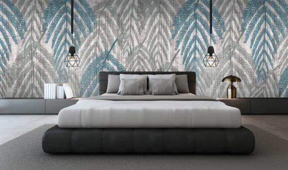 Tapeta jak ręcznie malowana Dom, LIFESTYLE - Newmor to niekwestionowany lider w dziedzinie tapet przeznaczonych do powierzchni obiektowych. Producent tworzy własne kompozycje i motywy o wysmakowanej estetyce oraz kolorystyce.