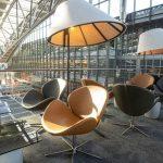 Lotnisko w Hamburgu. VIP Lounge stworzony przez BoConcept Business