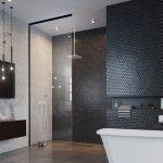 Idealnie skomponowana strefa prysznicowa