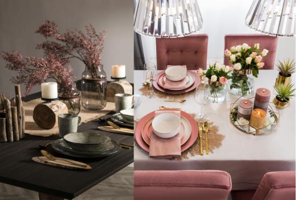 MUST HAVE w domu z dwóch perspektyw: modne akcesoria i dodatki do aranżacji sto Dom, LIFESTYLE - W okresie jesienno-zimowym szczególnie chętnie spędzamy czas w domu – często miejscem rodzinnych spotkań jest kuchnia lub jadania. Domownicy chętnie spotykają się przy wspólnych posiłkach – nic w końcu nie poprawia tak nastroju, jak długie rozmowy z bliskimi przy jednym stole.