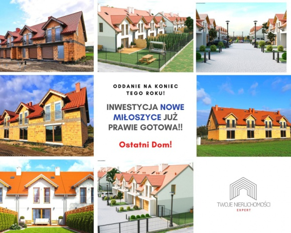 NOWE MIŁOSZYCE – dom pod Wrocławiem w cenie mieszkania w mieście Dom, LIFESTYLE - Nowe Miłoszyce to osiedle położone w niezwykle urokliwej i bardzo zielonej części Miłoszyc, oddalonych o 15 km od Wrocławia oraz 4 min. jazdy samochodem od Jelcza Laskowic.